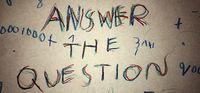 Portada oficial de Answer The Question para PC