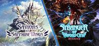 Portada oficial de Saviors of Sapphire Wings / Stranger of Sword City Revisited para PC