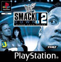 Portada oficial de WWF SmackDown 2 para PS One