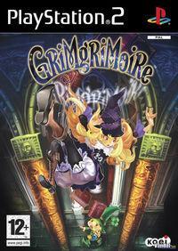 Portada oficial de Grimgrimoire para PS2