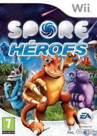 Portada oficial de Spore: Hero para Wii