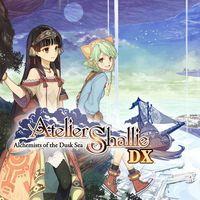 Portada oficial de Atelier Shallie: Alchemists of the Dusk Sea DX para PS4