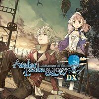Portada oficial de Atelier Escha and Logy: Alchemists of the Dusk Sky DX para PS4