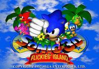 Portada oficial de Sonic 3D: Flickies' Island CV para Wii