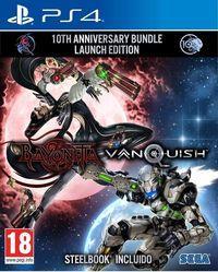 Portada oficial de Bayonetta & Vanquish 10th Anniversary Bundle para PS4