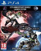Portada oficial de de Bayonetta & Vanquish 10th Anniversary Bundle para PS4