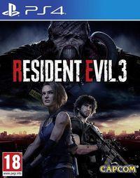 Portada oficial de Resident Evil 3 Remake para PS4