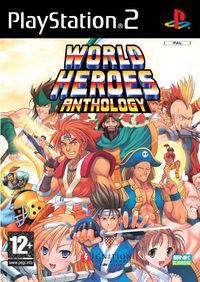 Portada oficial de World Heroes Anthology para PS2