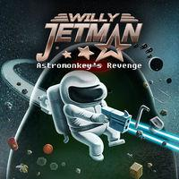 Portada oficial de Willy Jetman: Astromonkey's Revenge para Switch