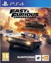 Portada oficial de Fast & Furious Crossroads para PS4