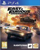 Portada oficial de de Fast & Furious Crossroads para PS4