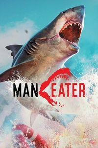 Portada oficial de Maneater para Xbox One