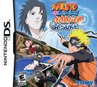 Portada oficial de de Naruto Shippuden: Naruto vs. Sasuke para NDS