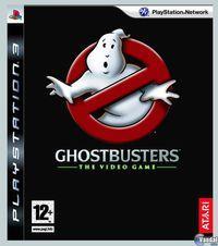 Portada oficial de Los Cazafantasmas: El Videojuego para PS3
