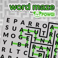 Portada oficial de Word Maze by POWGI para PS4