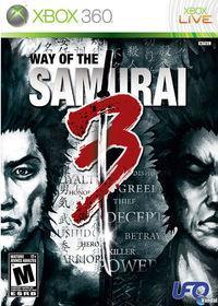 Portada oficial de Way of the Samurai 3 para Xbox 360