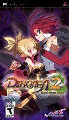 Portada oficial de de Disgaea 2: Dark Hero Days para PSP