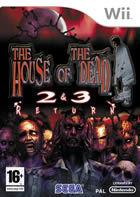 Portada oficial de de House of the Dead 2 and 3 Return para Wii