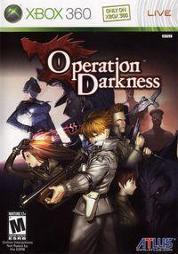Portada oficial de Operation Darkness para Xbox 360
