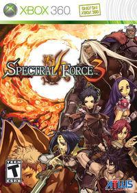 Portada oficial de Spectral Force 3 para Xbox 360