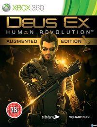 Portada oficial de Deus Ex: Human Revolution para Xbox 360