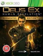 Portada oficial de de Deus Ex: Human Revolution para Xbox 360
