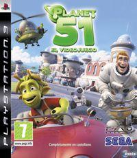 Portada oficial de Planet 51 para PS3