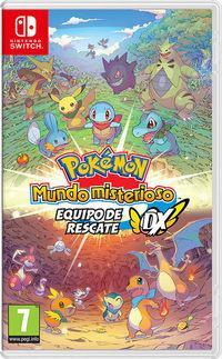Portada oficial de Pokémon Mundo Misterioso Equipo de Rescate DX para Switch