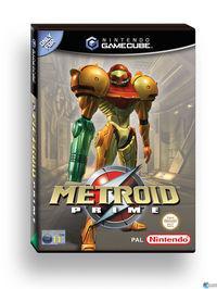 Portada oficial de Metroid Prime para GameCube