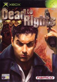 Portada oficial de Dead to Rights para Xbox