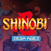 Portada oficial de Sega Ages: Shinobi para Switch