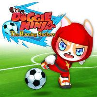 Portada oficial de Doggie Ninja The Burning Strikers para Switch