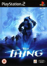 Portada oficial de The Thing para PS2