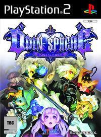 Portada oficial de Odin Sphere para PS2
