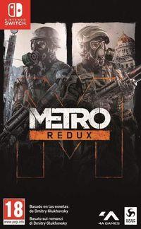 Portada oficial de Metro Redux para Switch