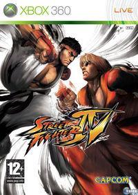 Portada oficial de Street Fighter IV para Xbox 360
