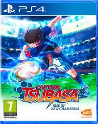 Portada oficial de Captain Tsubasa: Rise of New Champions para PS4