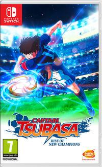 Portada oficial de Captain Tsubasa: Rise of New Champions para Switch