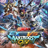Portada oficial de Mobile Suit Gundam Extreme VS. Maxiboost ON para PS4
