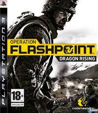 Portada oficial de Operation Flashpoint 2: Dragon Rising para PS3