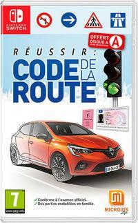 Portada oficial de Réussir : Code de la Route (French Highway Code) para Switch