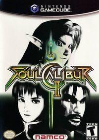 Portada oficial de Soul Calibur 2 para GameCube
