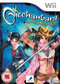 Portada oficial de OneChanbara: Bikini Zombie Slayers para Wii