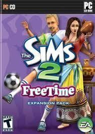 Portada oficial de The Sims 2: Free Time para PC