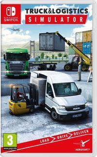 Portada oficial de Truck And Logistics Simulator para Switch