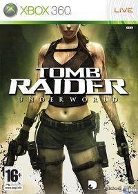 Portada oficial de Tomb Raider Underworld para Xbox 360