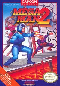 Portada oficial de Mega Man 2 CV para Wii