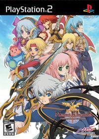 Portada oficial de Mana Khemia: Alchemists Al Revis para PS2