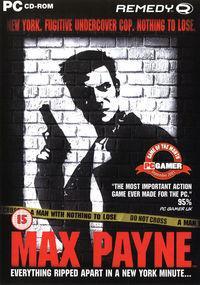 Portada oficial de Max Payne para PC