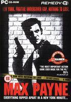 Portada oficial de de Max Payne para PC